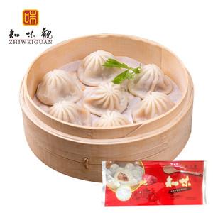 天猫优惠券后84.9元,知味观杭州小笼包灌汤包小包子速食半成品80个早餐速冻懒人食品