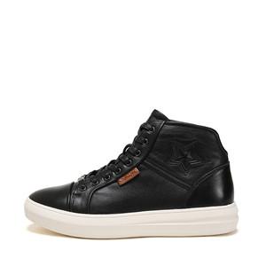 天猫优惠券后32元,shoebox/鞋柜冬季新款男鞋子男靴高帮板鞋休闲复古时尚系带鞋子潮